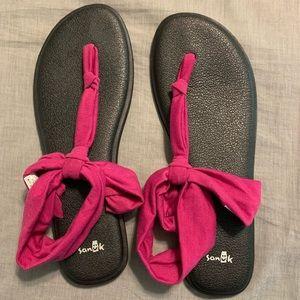 Vivid Violet Yoga Sling Ella Sanuk Sandals
